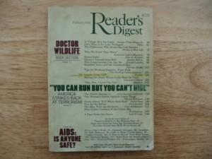 February 1986 Reader\'s Digest \