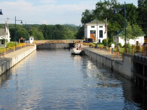 Lock 5 on the Hudson River just north of Schuylerville