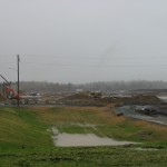 The Globalfoundries construction site